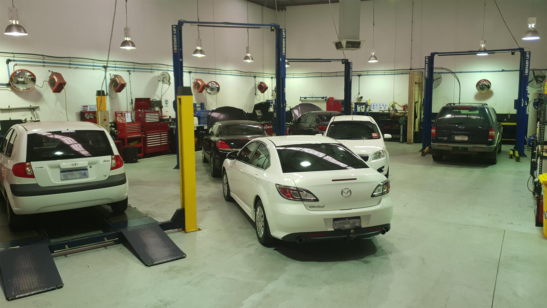 Mechanic Workshop Inside